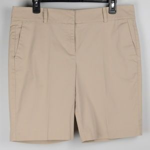 Ann Taylor Boardwalk Khaki Petite Shorts